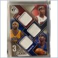 2009-10 SP Game Used 3 Star Swatches 125 #3SMTO Al Harrington/Jermaine O'Neal/Jamaal Tinsley 113/125