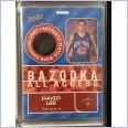 2005-06 Bazooka All-Access Relics #DL David Lee
