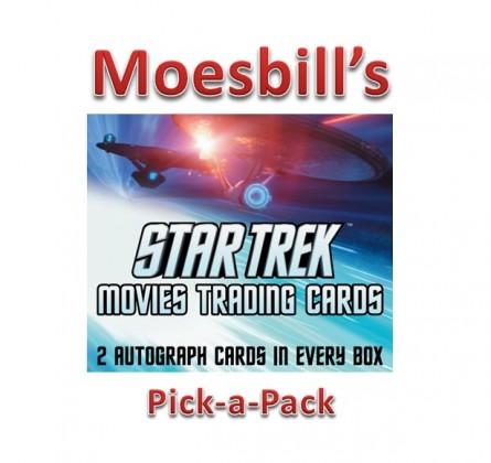 Moesbill Break #120 - 2014 Star Trek Movies Trading Card Box Pick-a-Pack Break