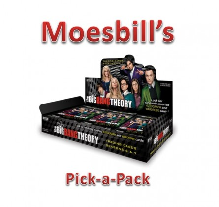 Moesbill Break #137 - The Big Bang Theory Season 6 & 7 Pack Stack Break