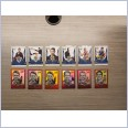 2020 AFL HONOURS BROWNLOW GALLERY & SKETCH BRISBANE 12 CARD TEAM SET VOSS BLACK