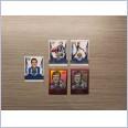 2020 AFL HONOURS BROWNLOW GALLERY SKETCH NORTH MELBOURNE 5 CARD TEAM LOT GREIG