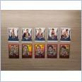 2020 AFL HONOURS BROWNLOW GALLERY SKETCH ST KILDA 10 CARD TEAM SET HARVEY SMITH