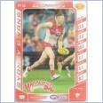 2016 AFL TeamCoach Footy Powers FP-34 Dan Hannebery - Sydney Swans - Hammerfist Dan