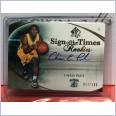 2005-06 NBA UPPER DECK SP AUTHENTIC SIGN OF THE TIMES CHRIS PAUL ROOKIE AUTOGRAPH - #11/100 HORNETS