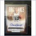 2012-13 PANINI NBA BRILLIANCE MARKS OF BRILLIANCE SIGNATURE DANA BARROS #015/199