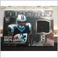 2014 NFL PANINI SPECTRA BUILDING BLOCKS JERSEY CARD KELVIN BENJAMIN #121/199