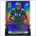 2014 NFL PANINI SPECTRA JERSEY SIGNATURE ON-CARD AUTO BLUE PRIZM CARD JORDAN MATTHEWS #07/49