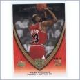 2008-09 NBA UPPER DECK MICHAEL JORDAN LEGACY CARD - #582