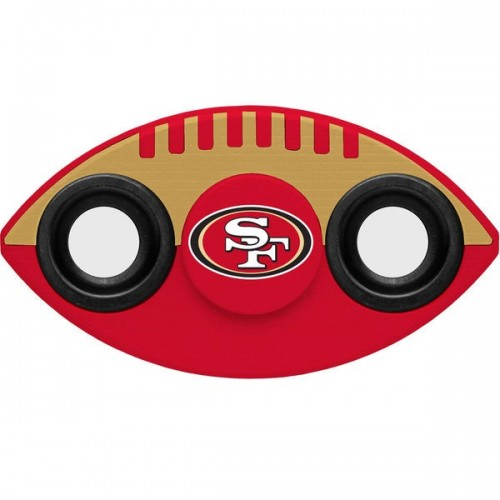 NFL TWO-WAY FIDGET SPINNER - SAN FRANCISCO 49ERS