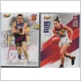 2019 AFL SELECT FOOTY STARS COMMON  + WOMEN TEAM SET - 15 CARDS - BRISBANE LIONS