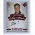 2014 AFL SELECT FUTURE FORCE RED SIGNATURE FFRS11 JACKSON NELSON - WEST COAST EAGLES #002