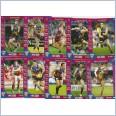 2015 AFL TEAMCOACH COMMON  TEAM SET - 10 CARDS - BRISBANE LIONS