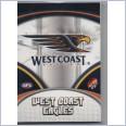 2007 AFL SELECT SUPREME COMMON  TEAM SET - 12 CARDS - WEST COAST EAGLES
