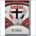 2007 AFL SELECT SUPREME COMMON  TEAM SET - 12 CARDS - ST KILDA SAINTS