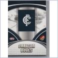 2007 AFL SELECT SUPREME COMMON  TEAM SET - 12 CARDS - CARLTON BLUES