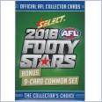2016 AFL SELECT FOOTY STARS BONUS COMMON  SET - 9 CARDS