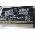 2012 NRL SELECT CHAMPIONS SEALED BOX - 36 PACKS.