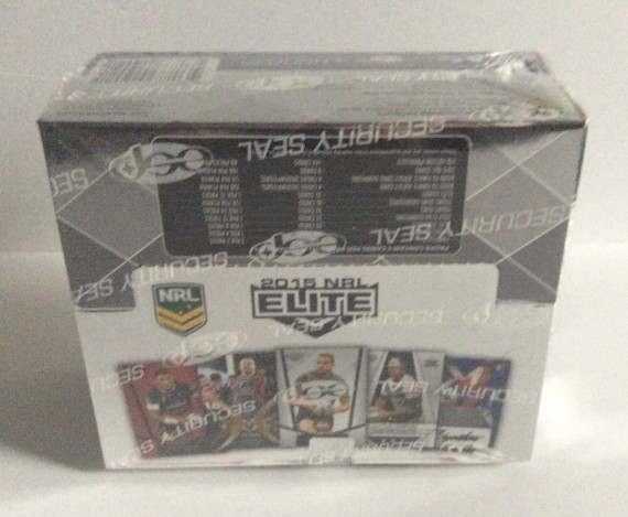 2015 NRL ESP ELITE SEALED BOX - 24 PACKS PER BOX - 9 CARDS PER PACK