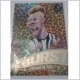 2020 AFL SELECT FOOTY STARS STAR BURST LEOPARD - SPL13 JORDAN DE GOEY COLLINGWOOD MAGPIES