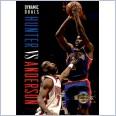1994 NBA BASKETBALL SKYBOX CARD #190 DYNAMIC DUALS  LINDSAY HUNTER / KENNY ANDERSON
