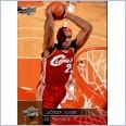 2009-10 NBA BASKETBALL UPPER DECK #28 LEBRON JAMES