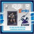 2021 NRL RUGBY LEAGUE TLA ELITE SILVER SPECIAL CARD SS 060 CAMERON MUNSTER - MELBOURNE STORM