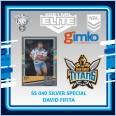 2021 NRL RUGBY LEAGUE TLA ELITE SILVER SPECIAL CARD SS 040 DAVID FIFITA - GOLD COAST TITANS