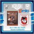 2021 NRL RUGBY LEAGUE TLA ELITE ALL-STARS CARD AS 11 TALIAH FUIMAONO - ST GEORGE ILLAWARRA DRAGONS