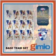 2021 AFL SELECT OPTIMUM 12 CARD BASE TEAM SET - WESTERN BULLDOGS