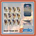 2021 AFL SELECT OPTIMUM 12 CARD BASE TEAM SET - WEST COAST EAGLES