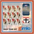 2021 AFL SELECT OPTIMUM 12 CARD BASE TEAM SET - ST KILDA SAINTS