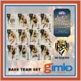 2021 AFL SELECT OPTIMUM 12 CARD BASE TEAM SET - RICHMOND TIGERS