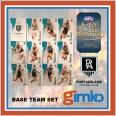 2021 AFL SELECT OPTIMUM 12 CARD BASE TEAM SET - PORT ADELAIDE POWER