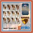 2021 AFL SELECT OPTIMUM 12 CARD BASE TEAM SET - HAWTHORN HAWKS