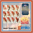 2021 AFL SELECT OPTIMUM 12 CARD BASE TEAM SET - GOLD COAST SUNS