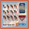 2021 AFL SELECT OPTIMUM 12 CARD BASE TEAM SET - ESSENDON BOMBERS