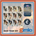 2021 AFL SELECT OPTIMUM 12 CARD BASE TEAM SET - CARLTON BLUES