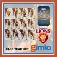 2021 AFL SELECT OPTIMUM 12 CARD BASE TEAM SET - BRISBANE LIONS