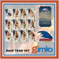 2021 AFL SELECT OPTIMUM 12 CARD BASE TEAM SET - ADELAIDE CROWS
