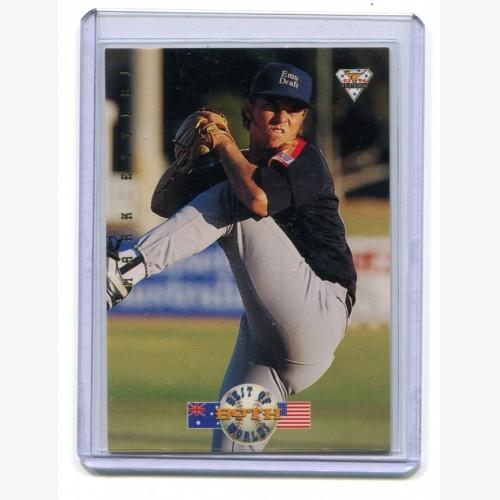1994 Futera ABL Baseball Best of Both Worlds Mark Ettles Limted Edition 472/500