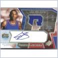 2004-05 Upper Deck SPx Louis Lou Williams rookie jersey auto spectrum #'d to 25 ~ Philadelphia 76ers
