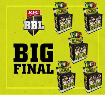 TCAC Break #30 - GRAND FINAL SPECIAL 5 BOX BREAK of 2015/16 Tap 'N' Play CA & BBL Cricket
