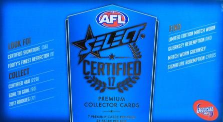 #735 AFL 2017 AFL CERTIFIED BREAK