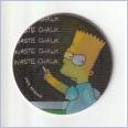 1996 THE SIMPSONS MAGIC MOTION TAZO  #142 BART SIMPSON 💎⚡💎  Frito Lay 🔥 🌟🔥 RUFFLES/DORITOS 💥 MINT 💨