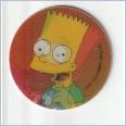 1996 THE SIMPSONS MAGIC MOTION TAZO  #150 BART SIMPSON 💎⚡💎  Frito Lay 🔥 🌟🔥 RUFFLES/DORITOS 💥 MINT 💨