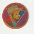 1996 THE SIMPSONS MAGIC MOTION TAZO  #180 BART SIMPSON 💎⚡💎  Frito Lay 🔥 🌟🔥 RUFFLES/DORITOS 💥 MINT 💨