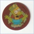 1996 THE SIMPSONS MAGIC MOTION TAZO  #164 BART SIMPSON 💎⚡💎  Frito Lay 🔥 🌟🔥 RUFFLES/DORITOS 💥 MINT 💨