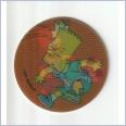 1996 THE SIMPSONS MAGIC MOTION TAZO  #167 BART SIMPSON 💎⚡💎  Frito Lay 🔥 🌟🔥 RUFFLES/DORITOS 💥 MINT 💨