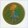 1996 THE SIMPSONS MAGIC MOTION TAZO  #177 BART SIMPSON 💎⚡💎  Frito Lay 🔥 🌟🔥 RUFFLES/DORITOS 💥 MINT 💨